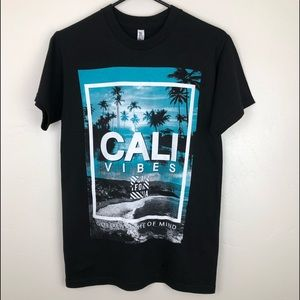 NWOT ALSTYLE Cali Vibes Teal & Black Small Petite
